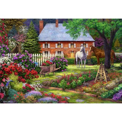 grafika-Puzzle - 100 pieces - Chuck Pinson - The Sweet Garden