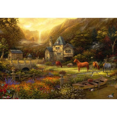 grafika-Puzzle - 100 pieces - Chuck Pinson - The Golden Valley