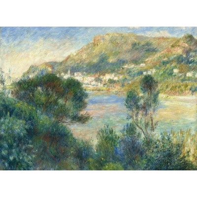 grafika-Puzzle - 300 pieces - Auguste Renoir - View of Monte Carlo from Cap Martin