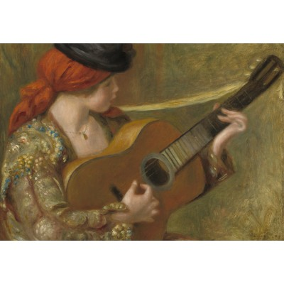 grafika-Puzzle - 100 pieces - Auguste Renoir - Young Spanish Woman with a Guitar
