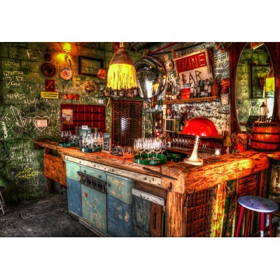 grafika-Puzzle - 100 pieces - Ruin Bar in Budapest