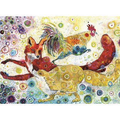 grafika-Puzzle - 300 pieces - Sally Rich - Leaping Fox's