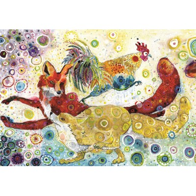 grafika-Puzzle - 100 pieces - Sally Rich - Leaping Fox's