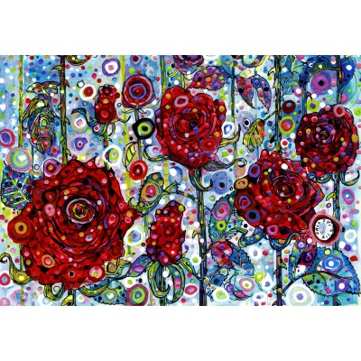 grafika-Puzzle - 100 pieces - Sally Rich - Roses
