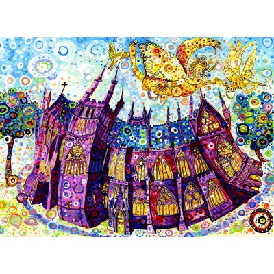 grafika-Puzzle - 300 pieces - Sally Rich - Cathedral
