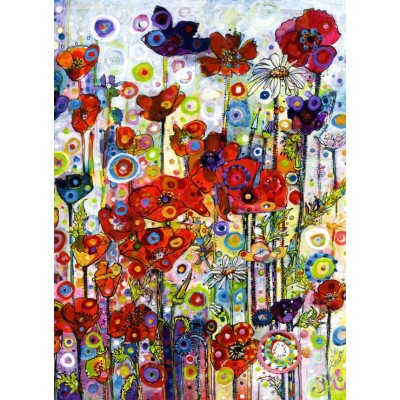 grafika-Puzzle - 300 pieces - Sally Rich - Poppies