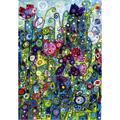 grafika-Puzzle - 100 pieces - Sally Rich - Sweet Pea