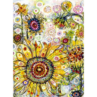 grafika-Puzzle - 300 pieces - Sally Rich - Sunflowers
