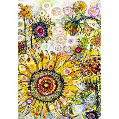 grafika-Puzzle - 100 pieces - Sally Rich - Sunflowers