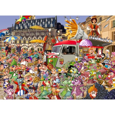 grafika-Puzzle - 300 pieces - The Lille Braderie