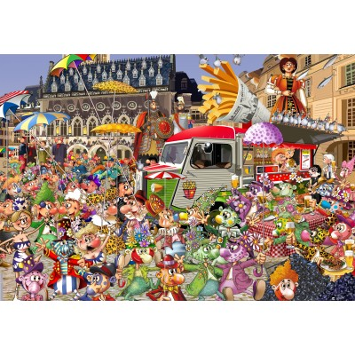 grafika-Puzzle - 100 pieces - The Lille Braderie