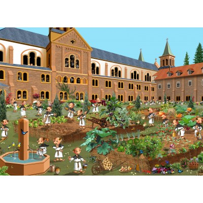 grafika-Puzzle - 300 pieces - Monastery